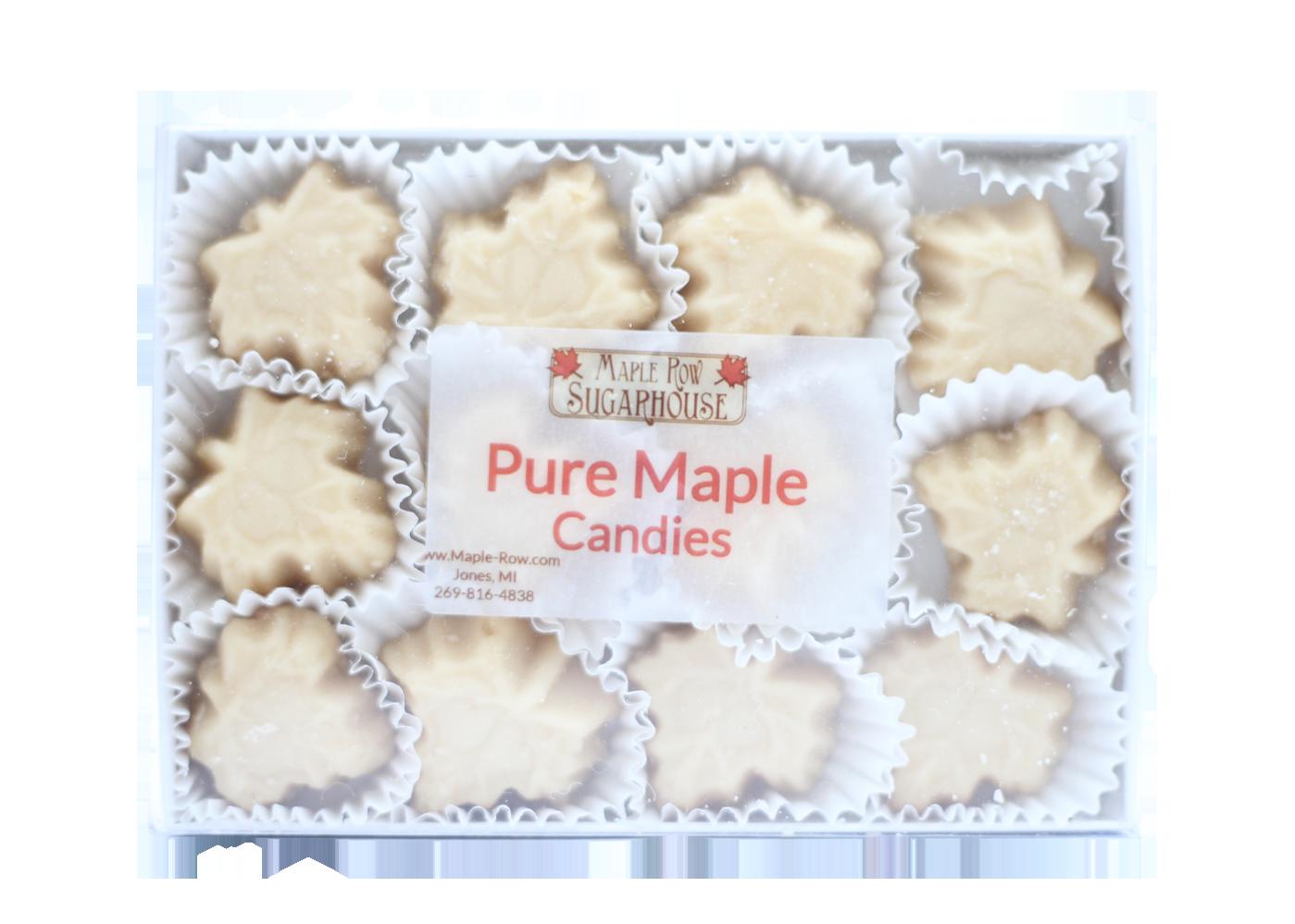 quarter pound pure maple candy