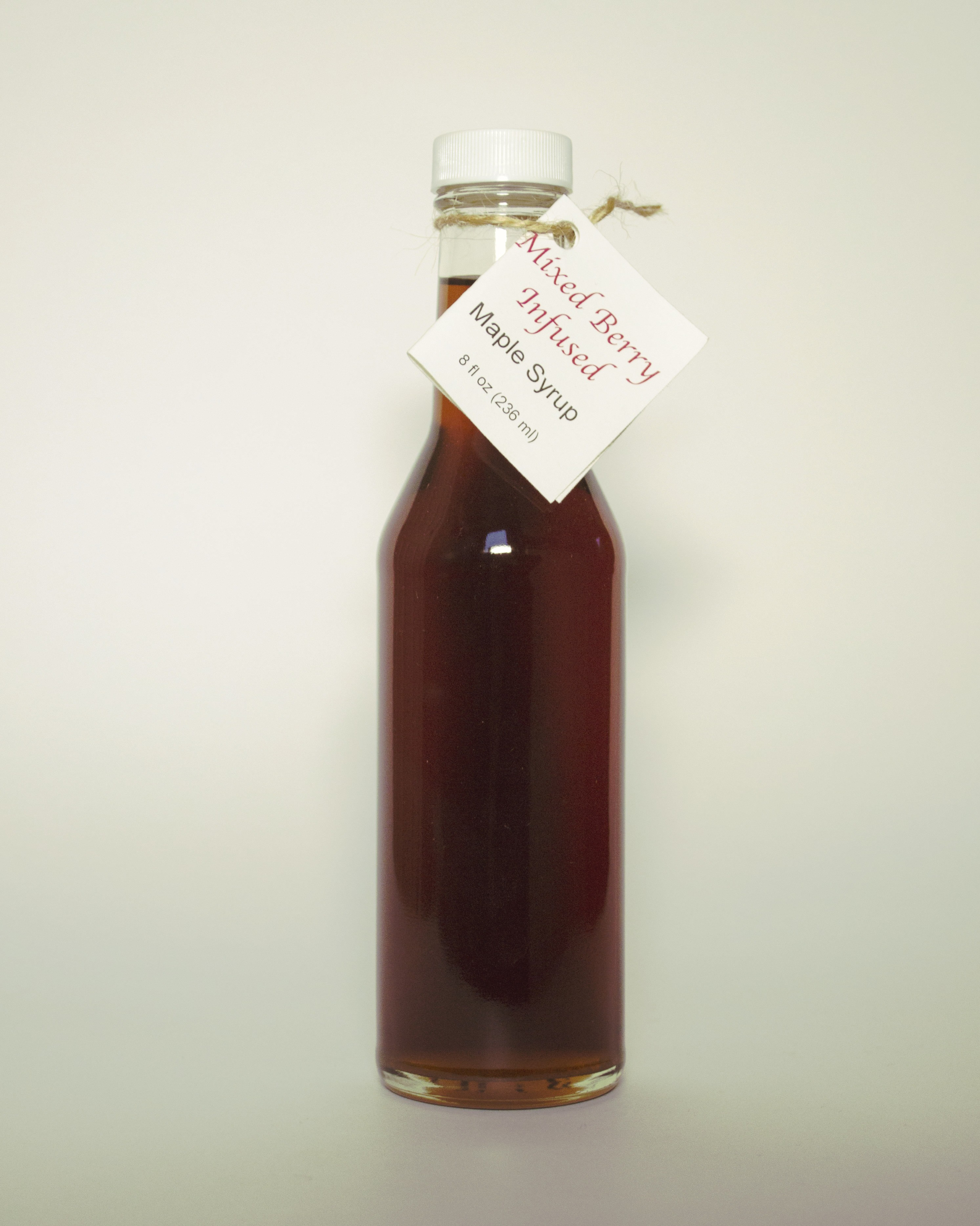 Mixed Berry infused maple syrup