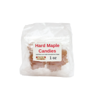 small hard maple candy
