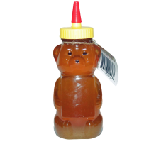 Raw Honey 12oz Bear