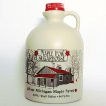 half gallon plastic jug