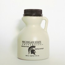 8oz  MSU pure maple syrup