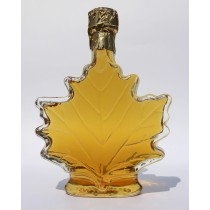 250ml glass maple leaf