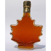 500ml glass maple leaf
