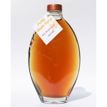 250ml glass oval maple leaf